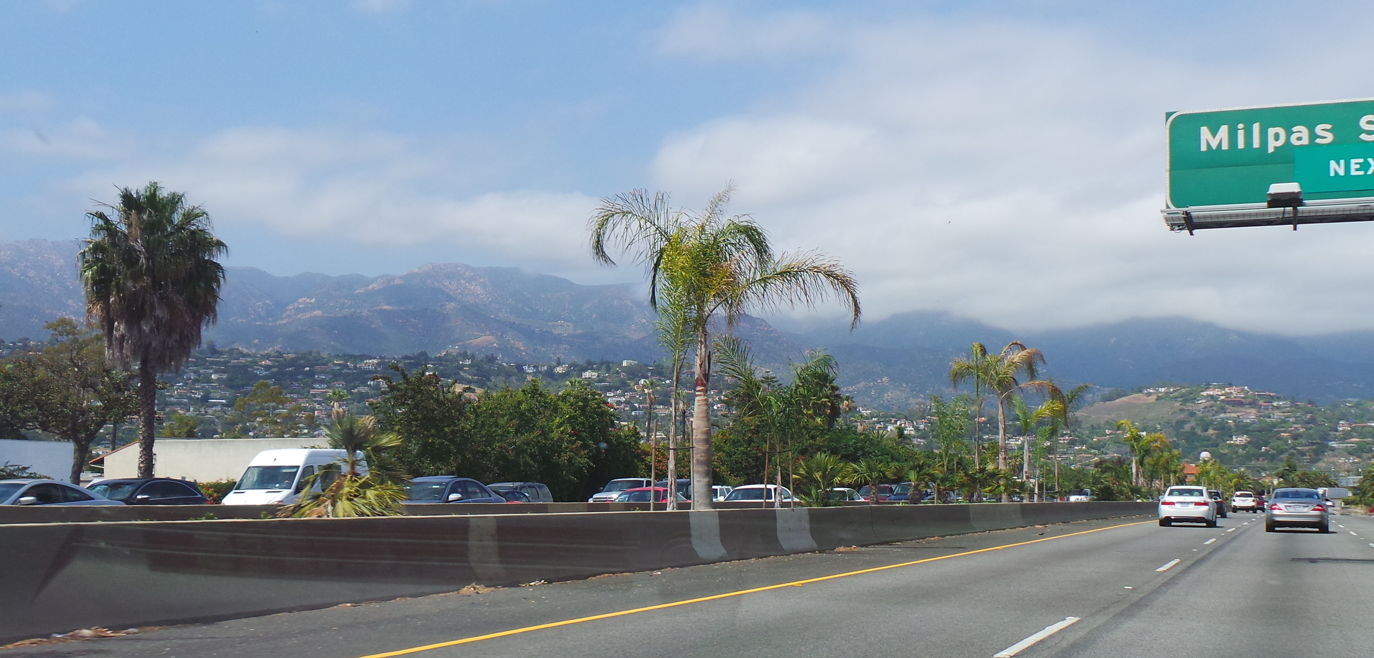 Cutting Back Through Santa Barbara for Ojai