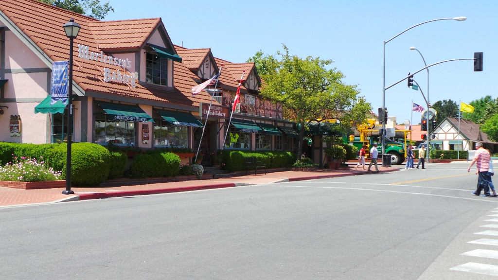 Danish Baking Company In Solvang