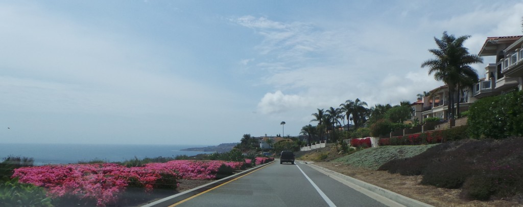 Driving Towards Rancho Palos Verdes
