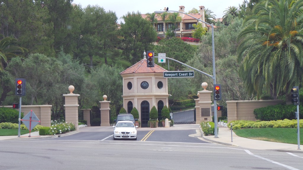 Gated Communities in Newport Coast California