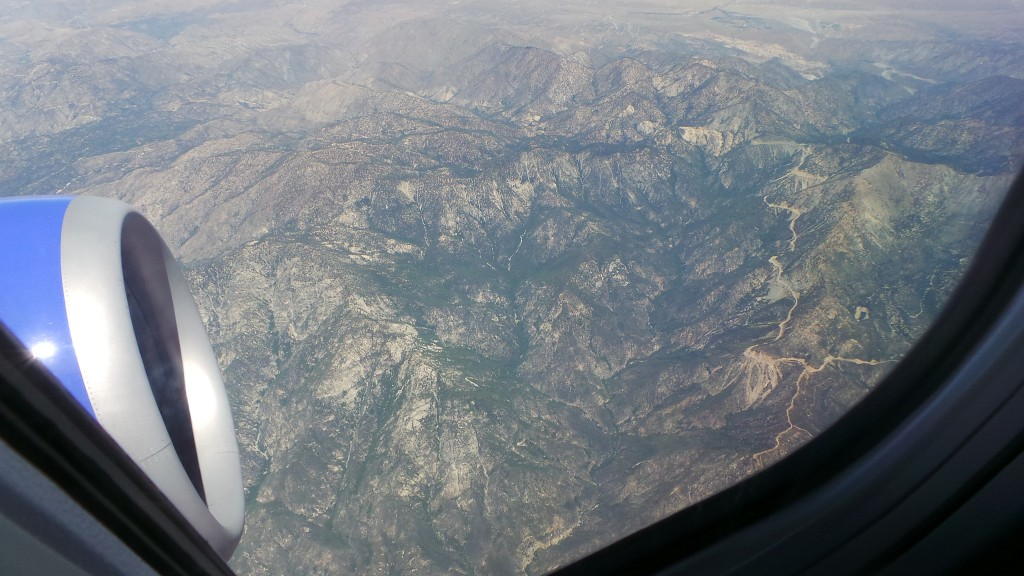 Going Over California's Mountains