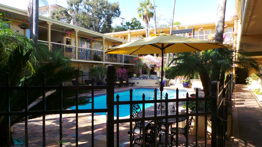 Holiday Inn Laguna Beach Interior Courtyard