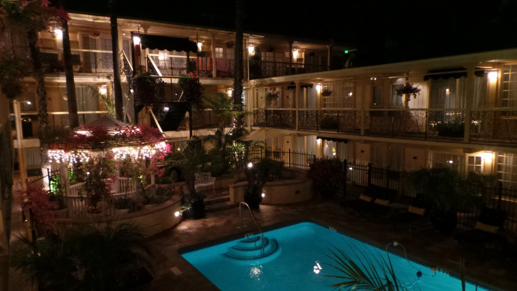 Holiday Inn Laguna Beach at Night Pool
