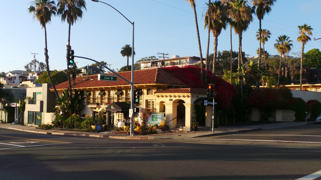 Holiday Inn Laguna Beach from Across the Street