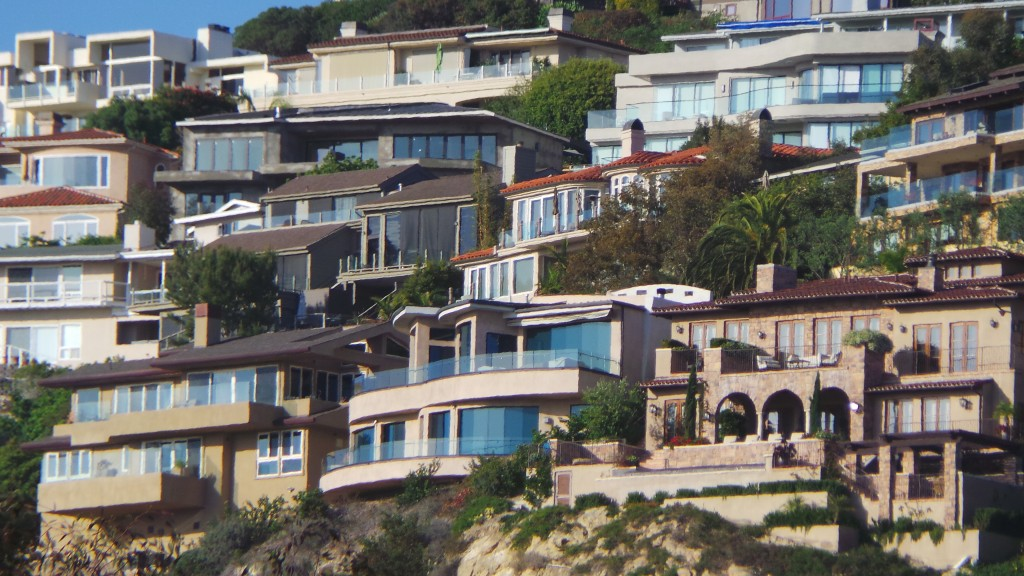 Mansions in Laguna Beach California