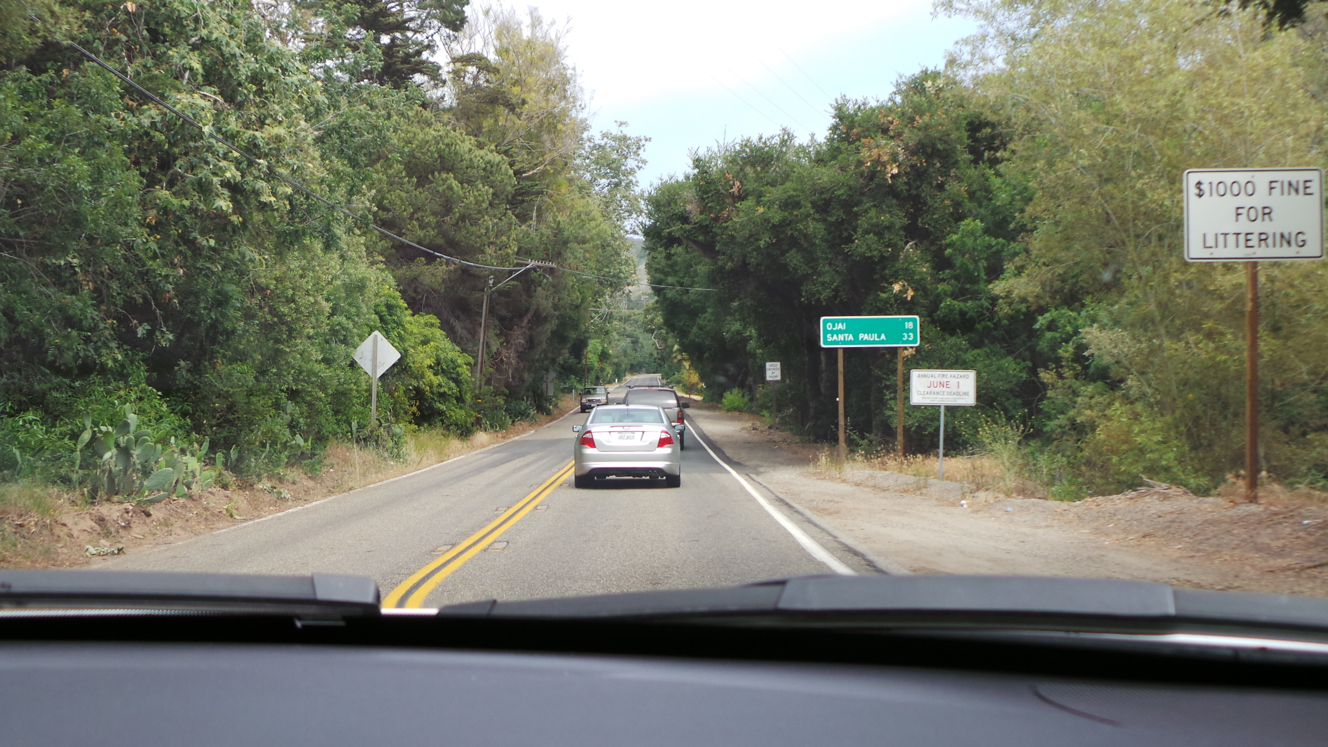 Only 18 Miles to Ojai