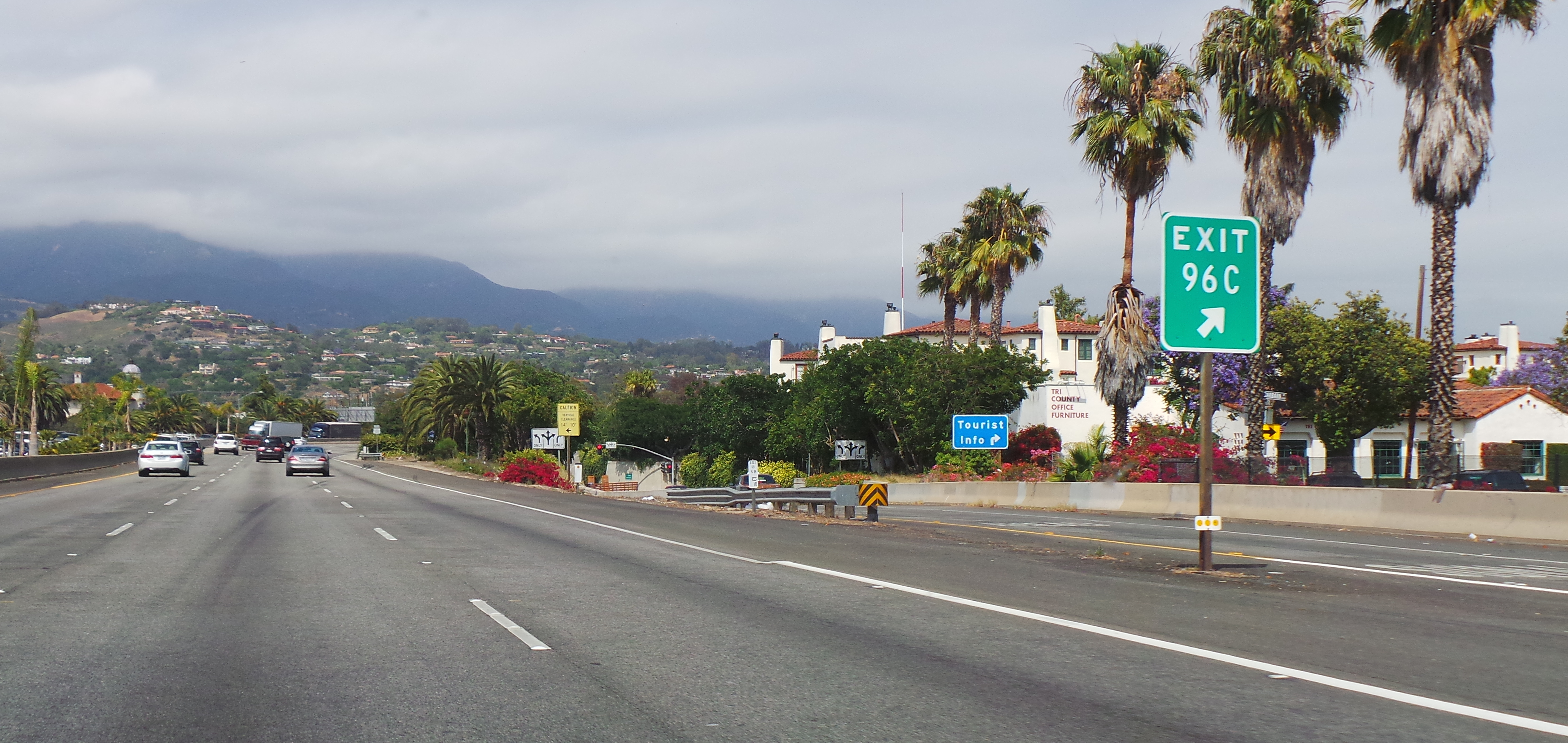 Santa Barbara Towards Ojai Visitor Center