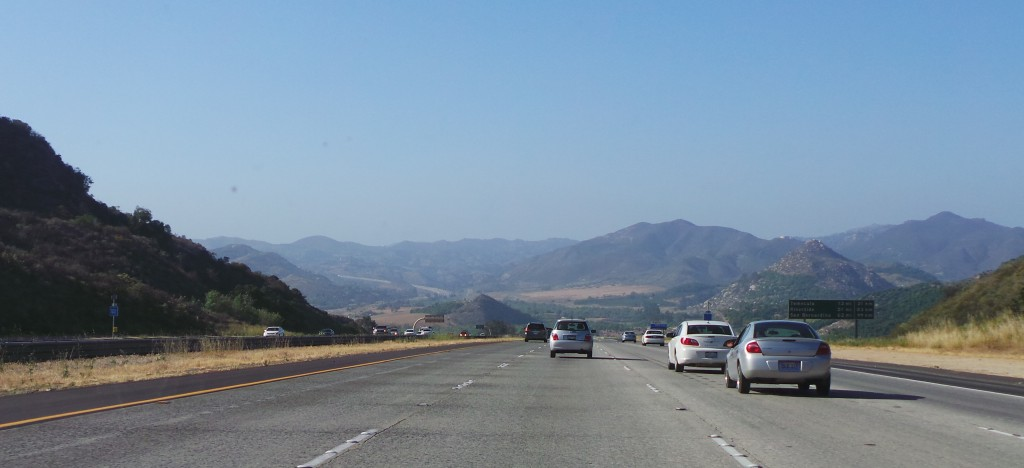 The Drive Into Temecula from Rancho Santa Fe