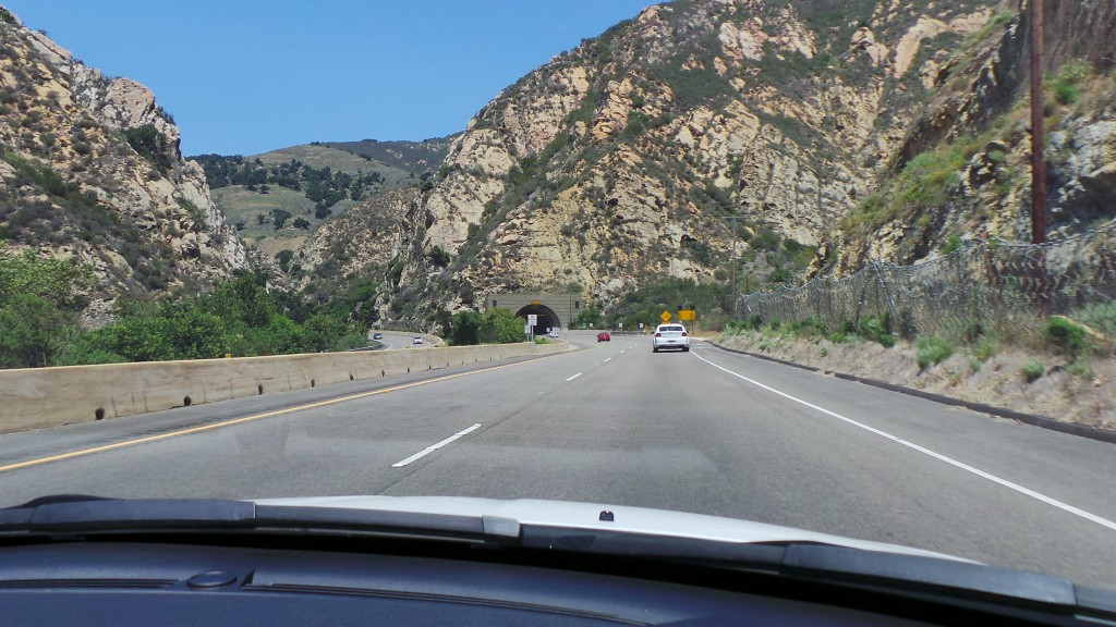 Tiny Tunnel on Way to Solvang