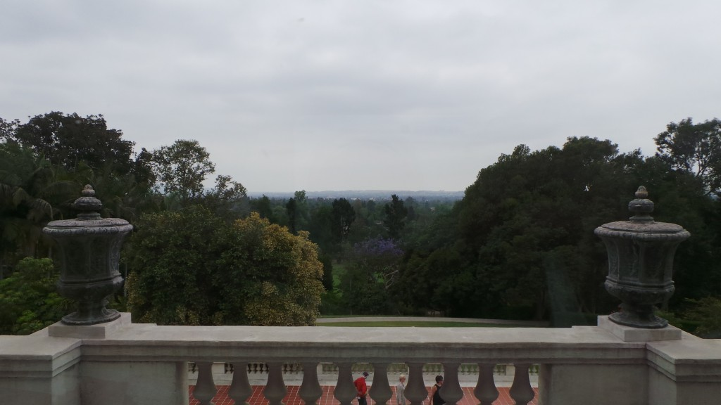 View from Balcony Overlooking Pasadena