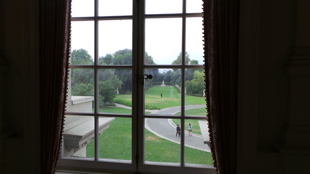 View of Lawn from Huntington Mansion