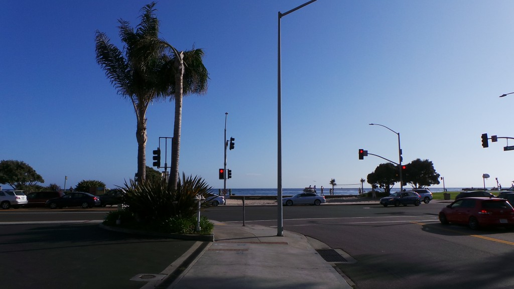 Walking Back Down to Ocean Laguna Beach California