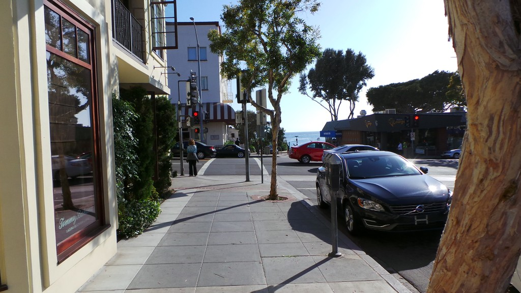 Walking Back Down to Ocean to the Left Laguna Beach California