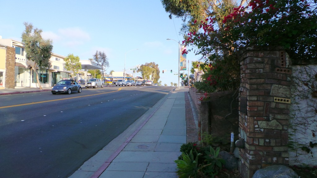 Walking Back to Hotel When Another Alley on Right Laguna Beach