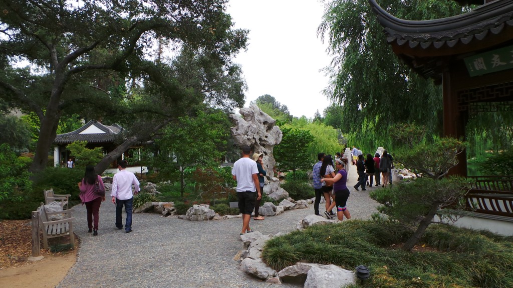 Walking the Chinese Garden in Pasadena Huntington