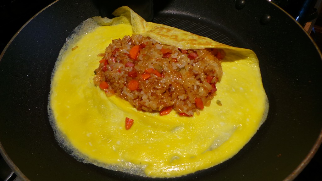 Filling Omurice from Rooftop Prince