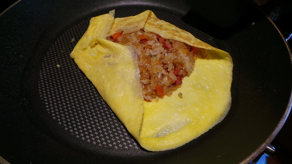 Folding Omurice Rooftop Prince