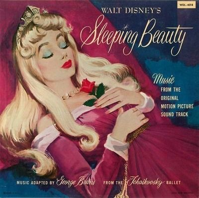 Sleeping Beauty Vinyl Cover