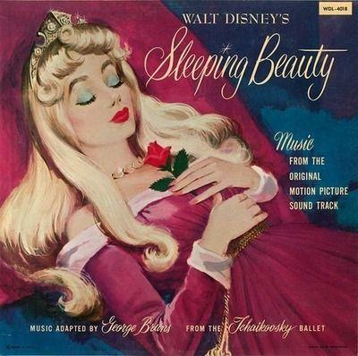 Sleeping Beauty Vinyl Cover