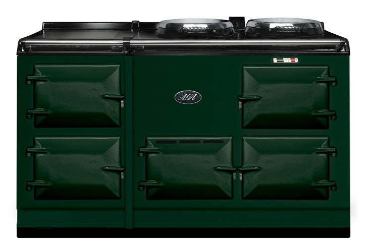 Aga Stove British Racing Green