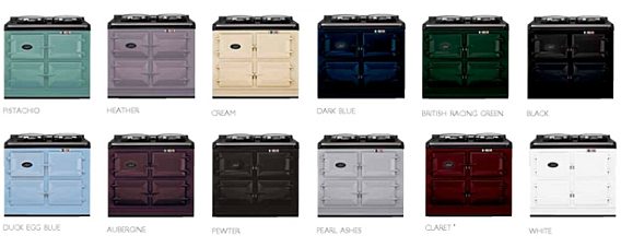 Aga Stove Colors
