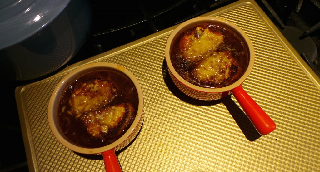 Julia Child French Onion Soup Test
