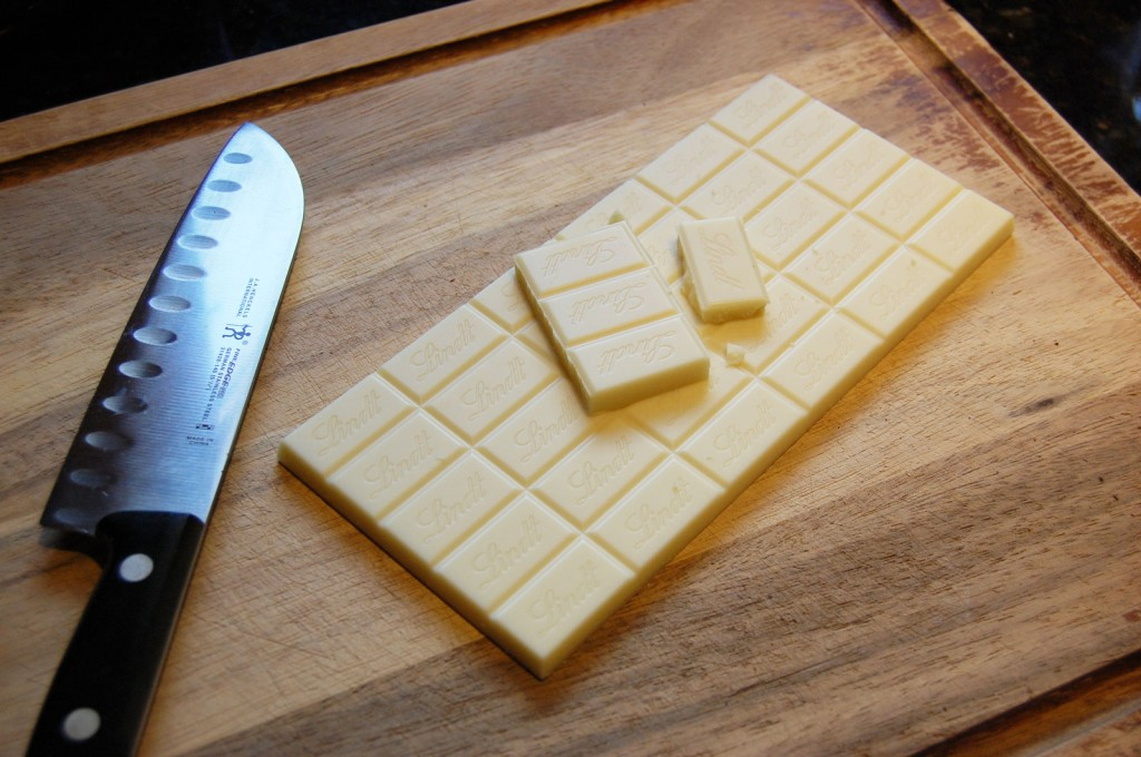 Lindt White Chocolate for Cream Pie Filling