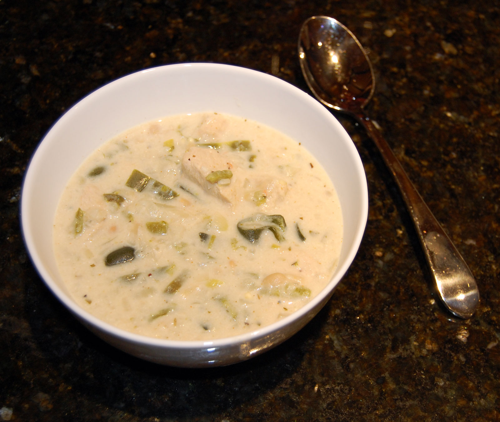 White Chicken Chili Recipe Ready to Eat