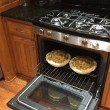 Baking Apple Pies in the Oven