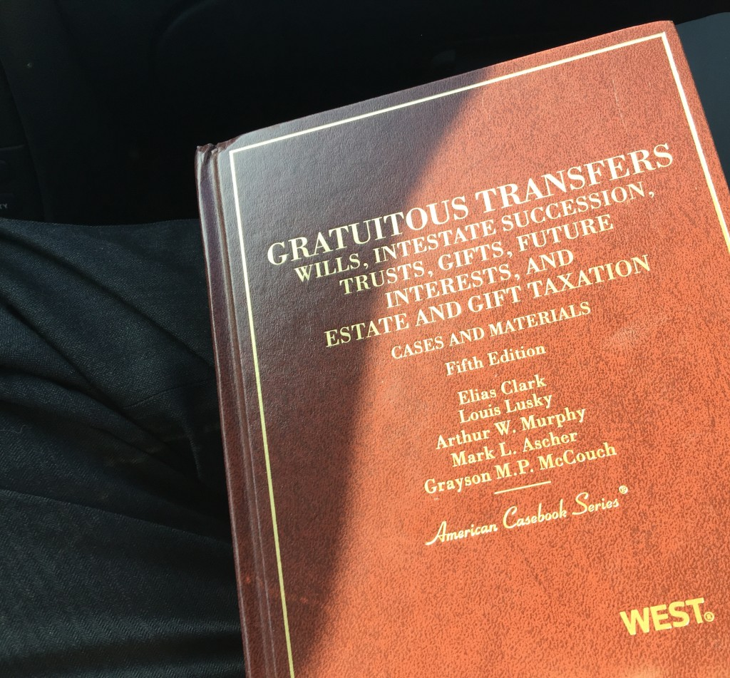Gratuitous Transfers Wills Intestate Succession Future Interesta nd Estate and Gift Taxation American Casebook Series West Fifth Edition Cover