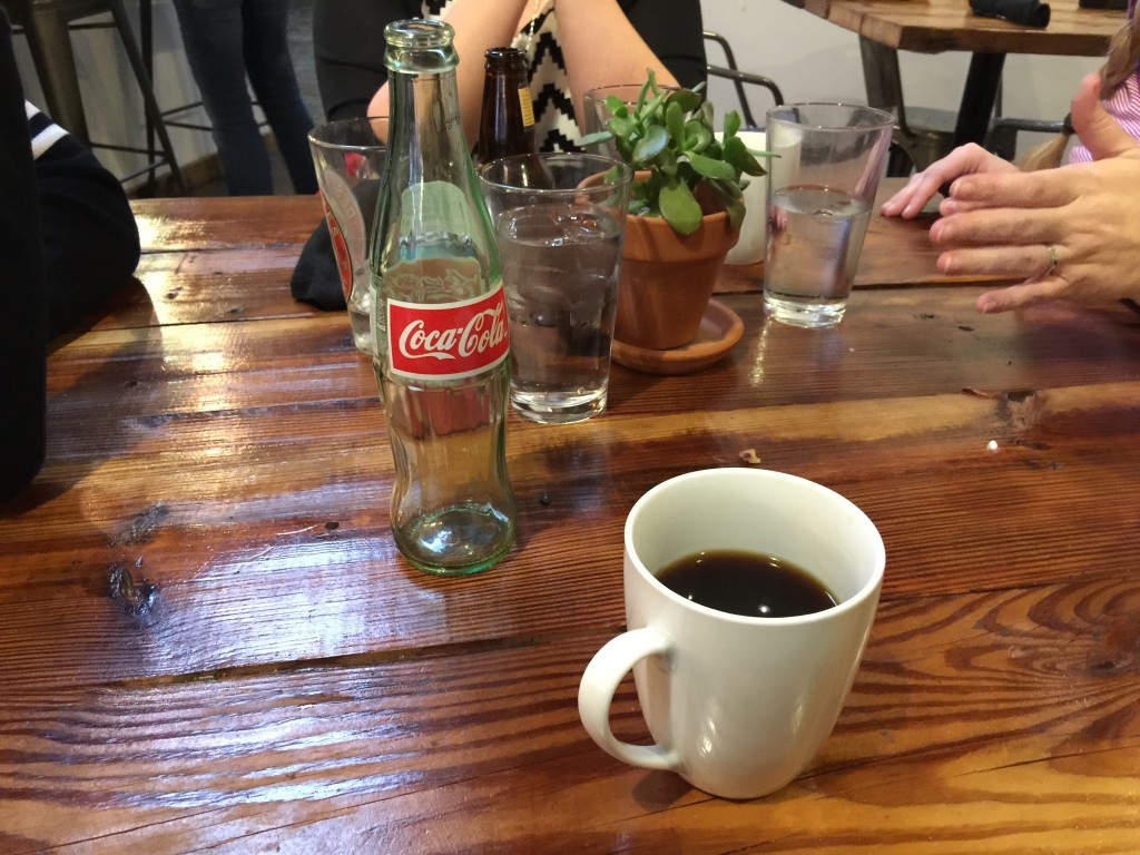 Mexican Coca-Cola and Pour-Over Coffee