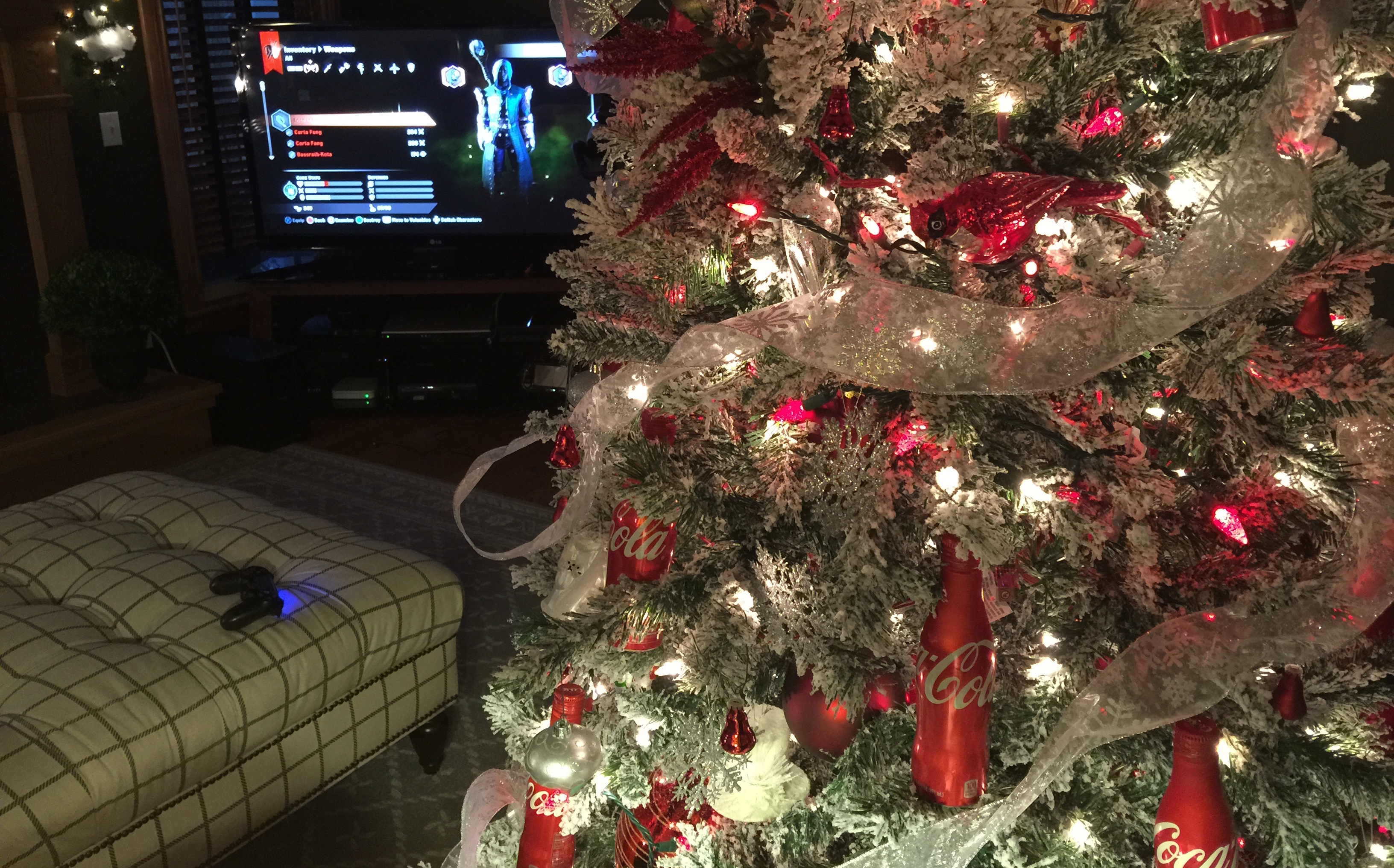 Dragon Age Inquisition Christmas and Coca-Cola Tree