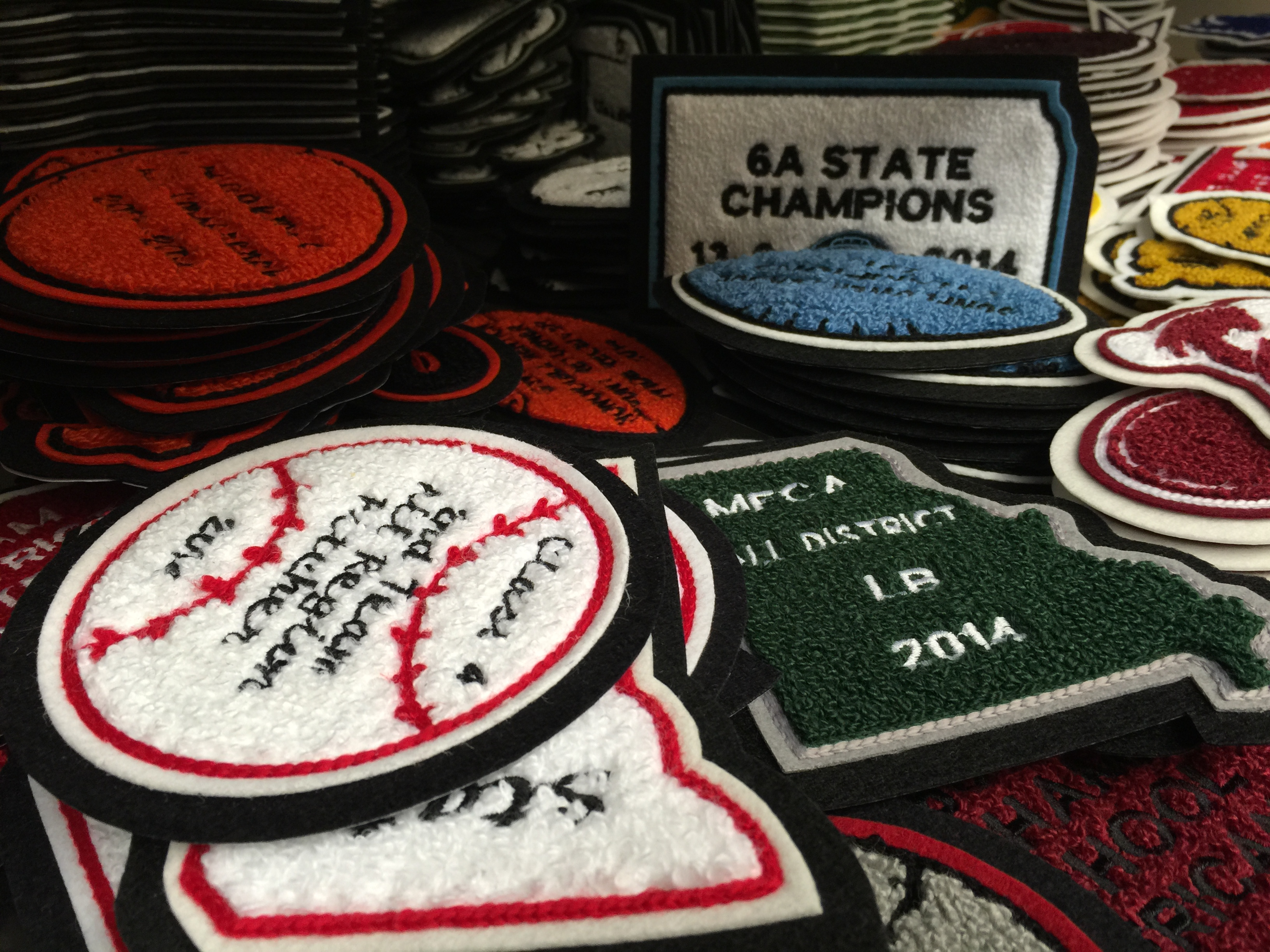 Mount Olympus Awards Patches Christmas 2014