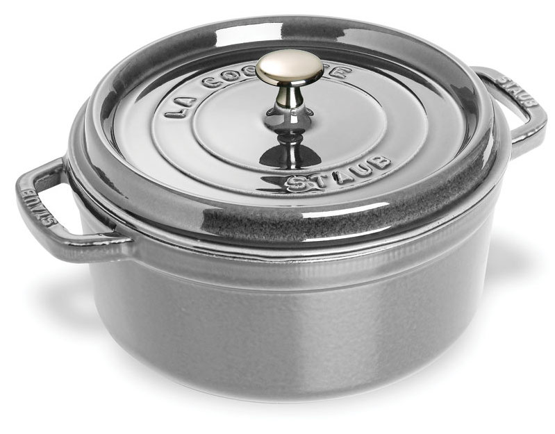 Staub 4 Quart Graphite Gray Dutch Oven