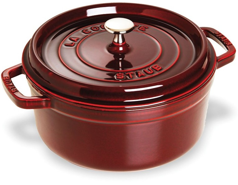 Staub 4 quart Dutch Oven Grenadine