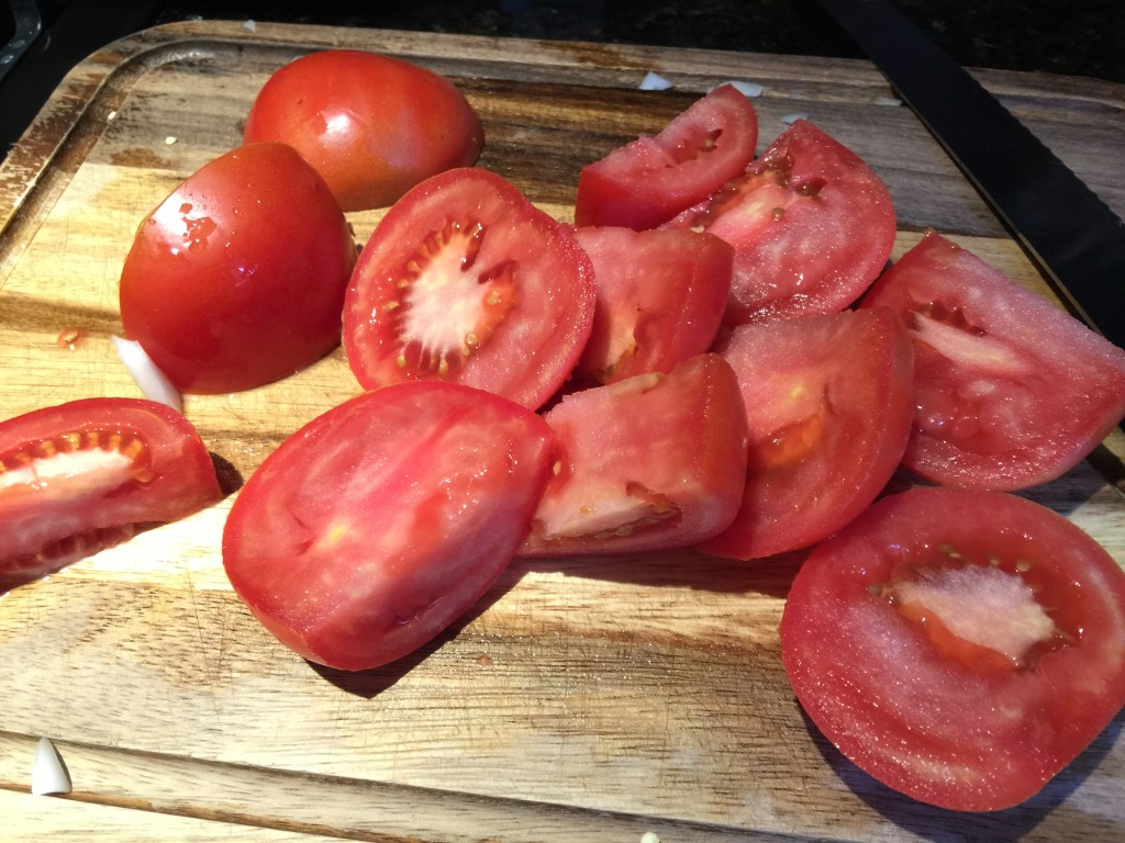 Tomatoes for Chili Recipe