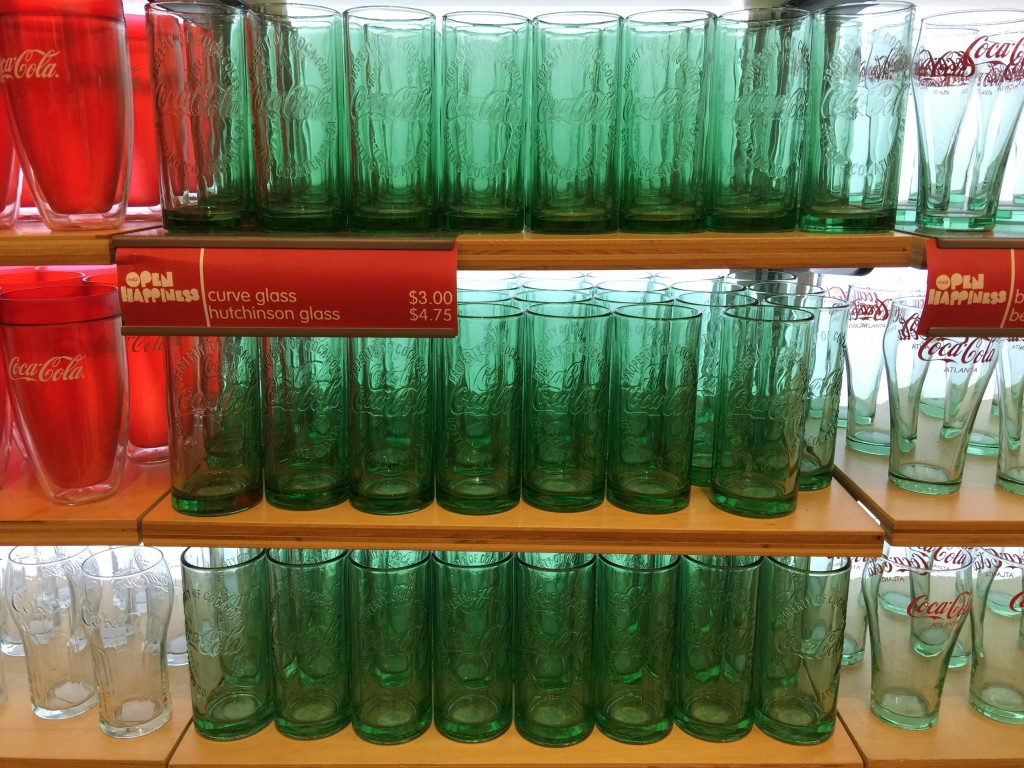 Coca-Cola Hutchinson Glass
