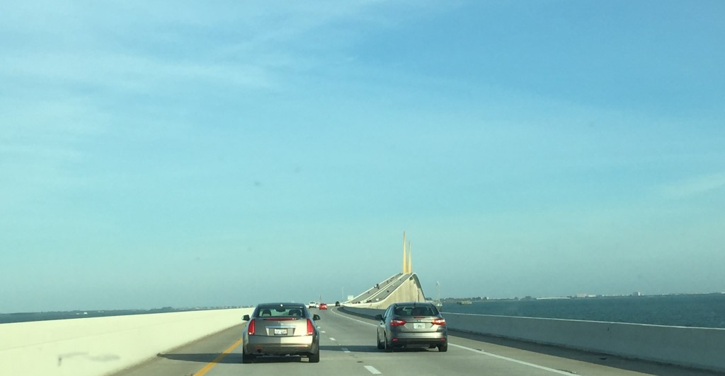 Heading Toward Tampa Bridge