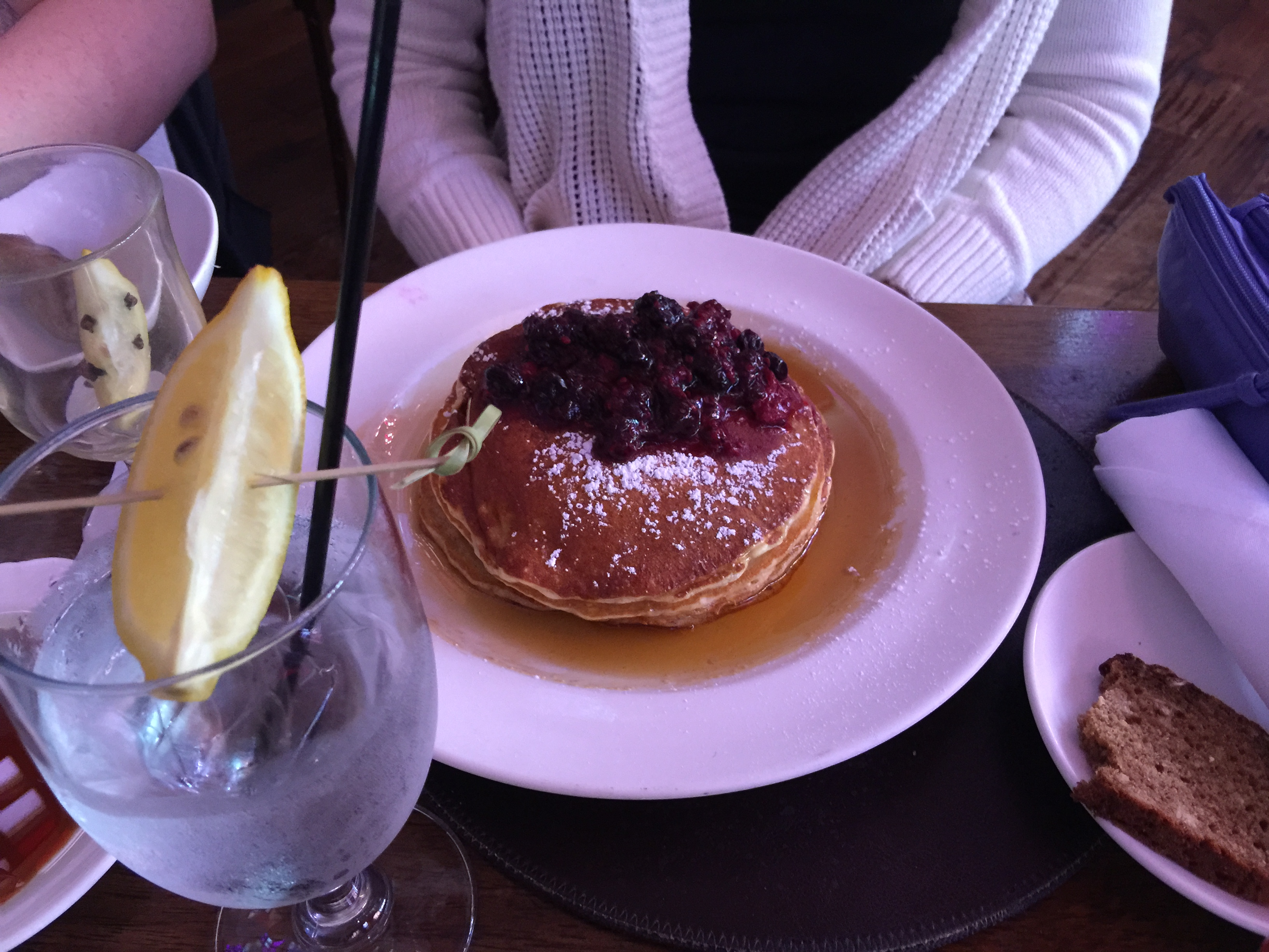 Raglan Road Berry Pancakes Downtown Disney