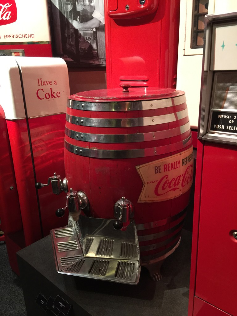 Red Coca-Cola Barrel The World of Coca-Cola