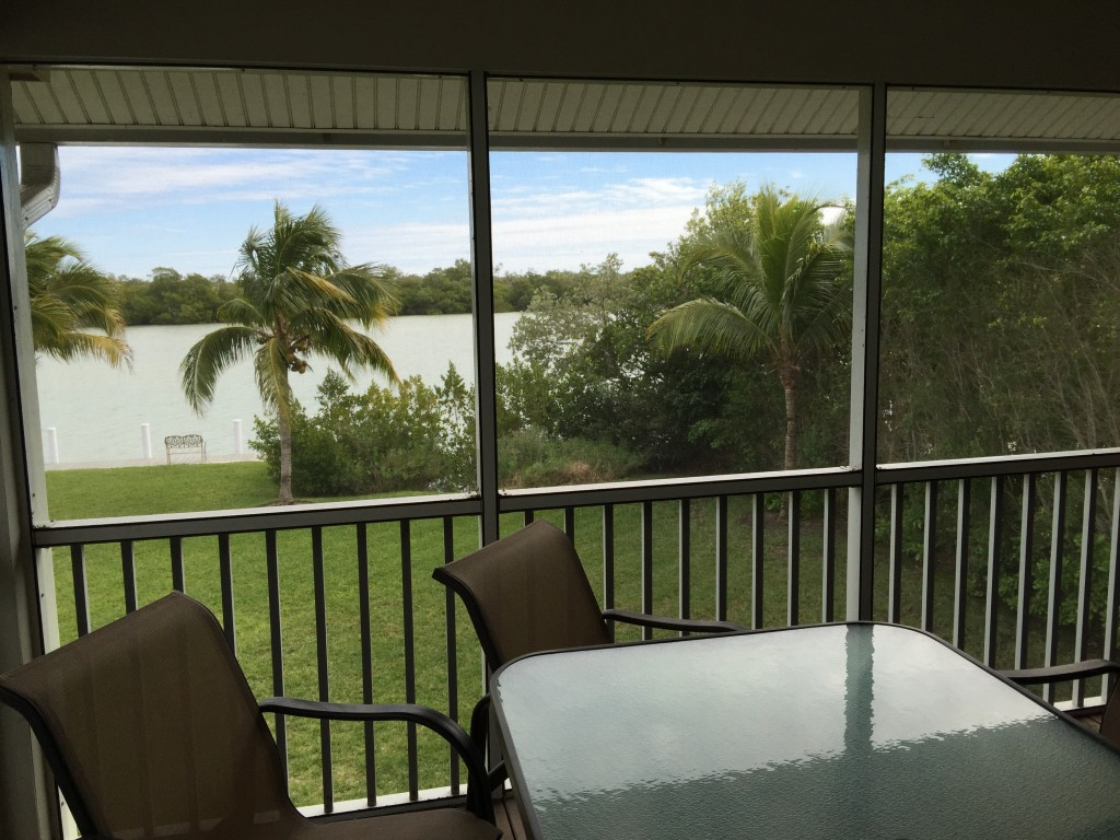 View From Screened Deck 1 Captiva Otter Banks
