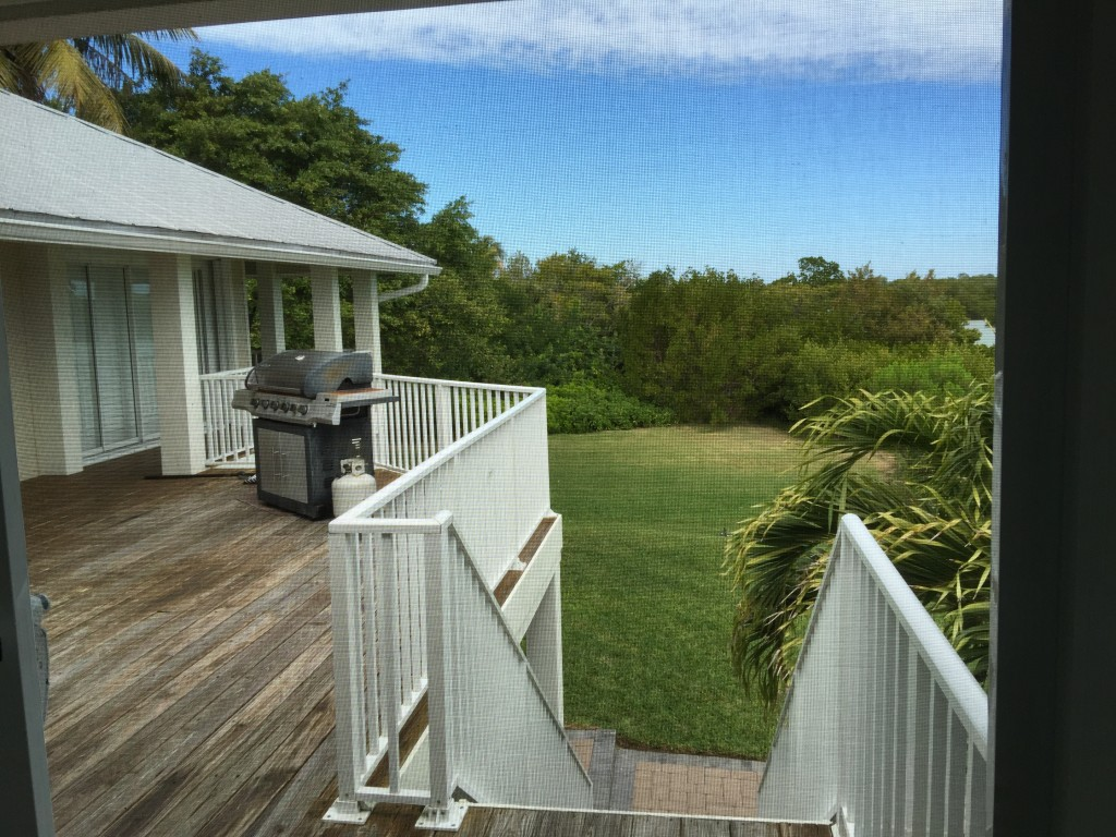 View from Screened Deck 2 Otter Bank Captiva