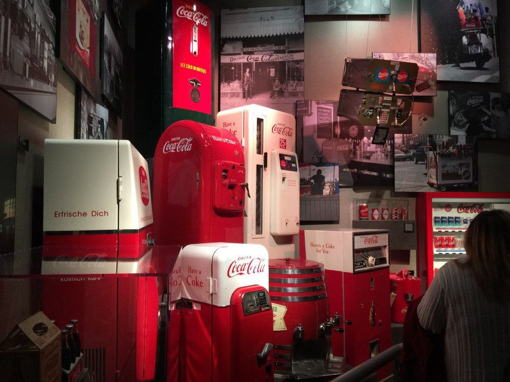 Vintage Coca-Cola Vending Machines
