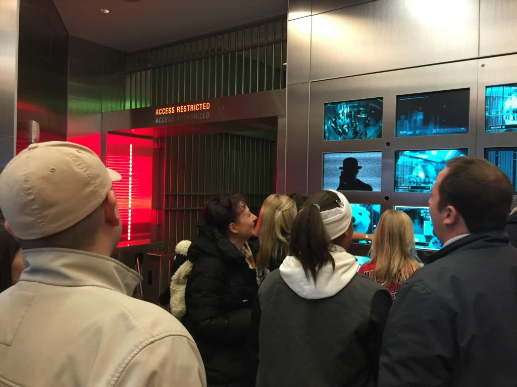 Waiting To Be Let Into the Coca-Cola Vault