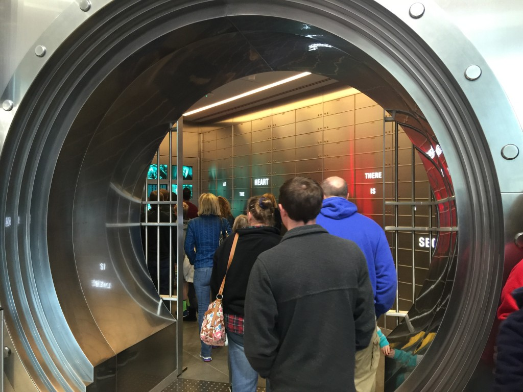 Walking In To the Coca-Cola Vault