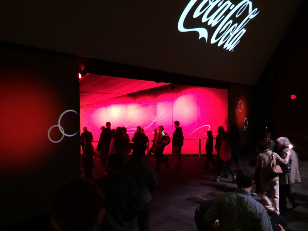 Walking Through the World of Coca-Cola Screen