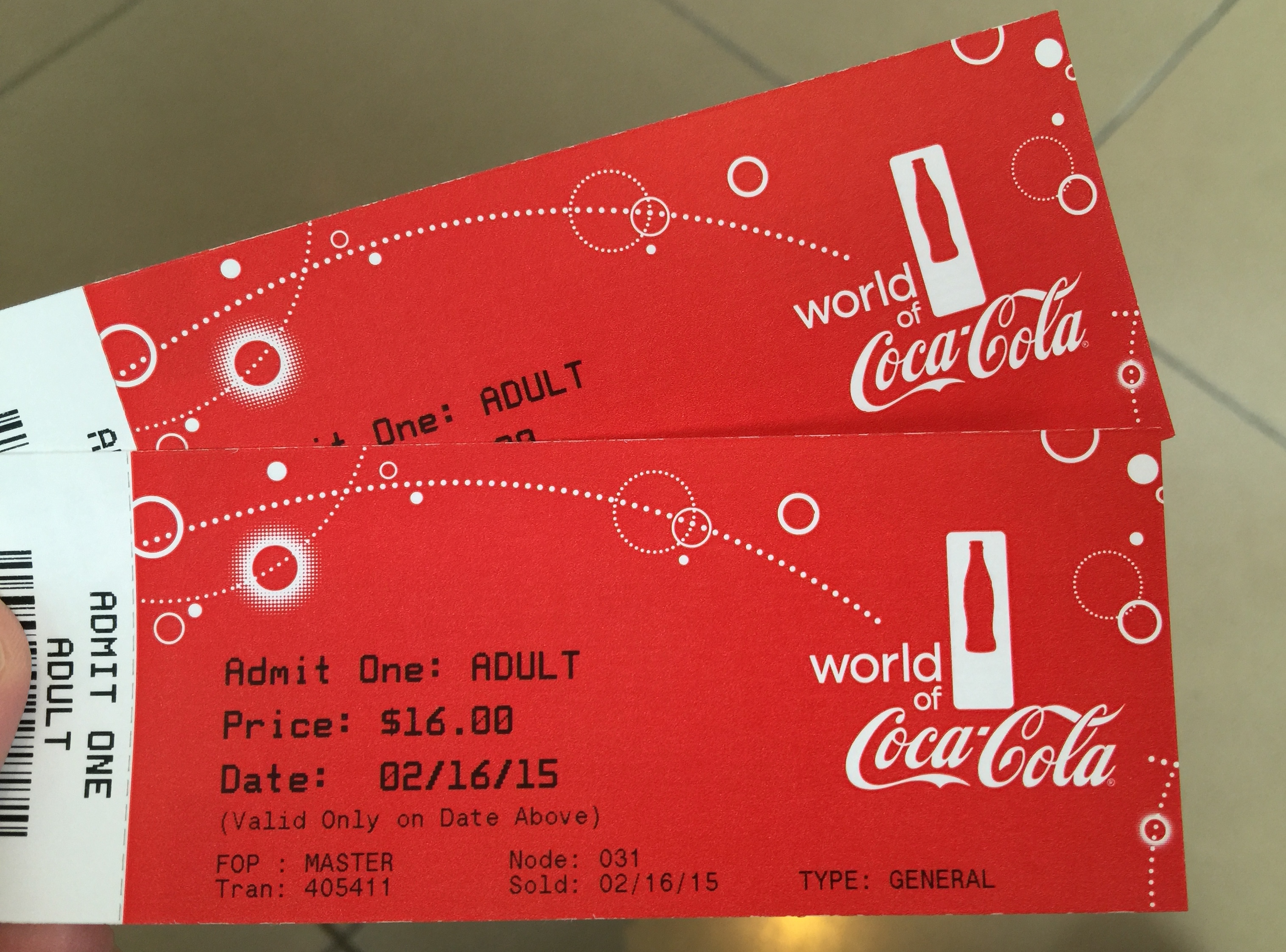 World of Coca-Cola Admission Tickets