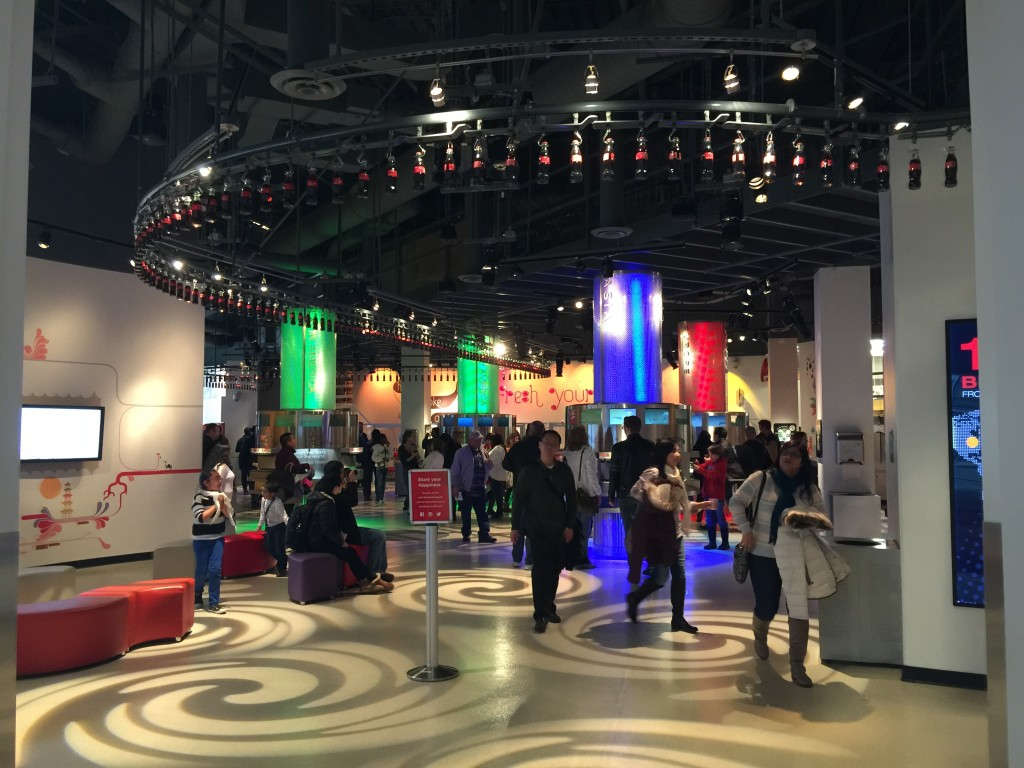 World of Coca-Cola Taste It Exhibit
