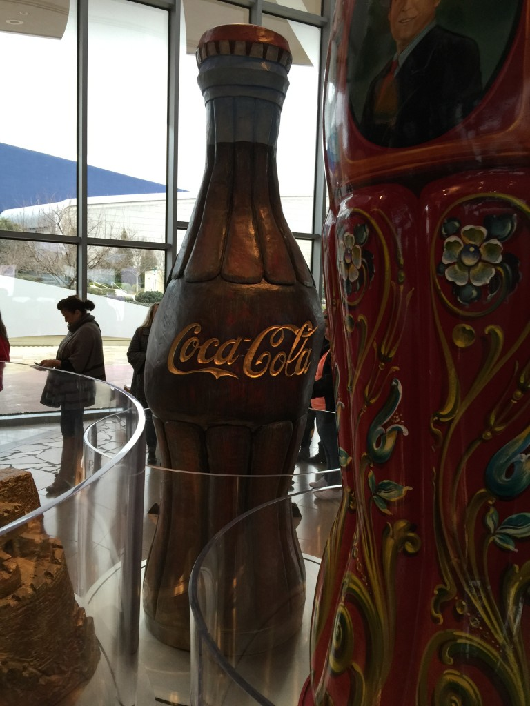 World of Coca-Cola Waiting to Go In to Tour