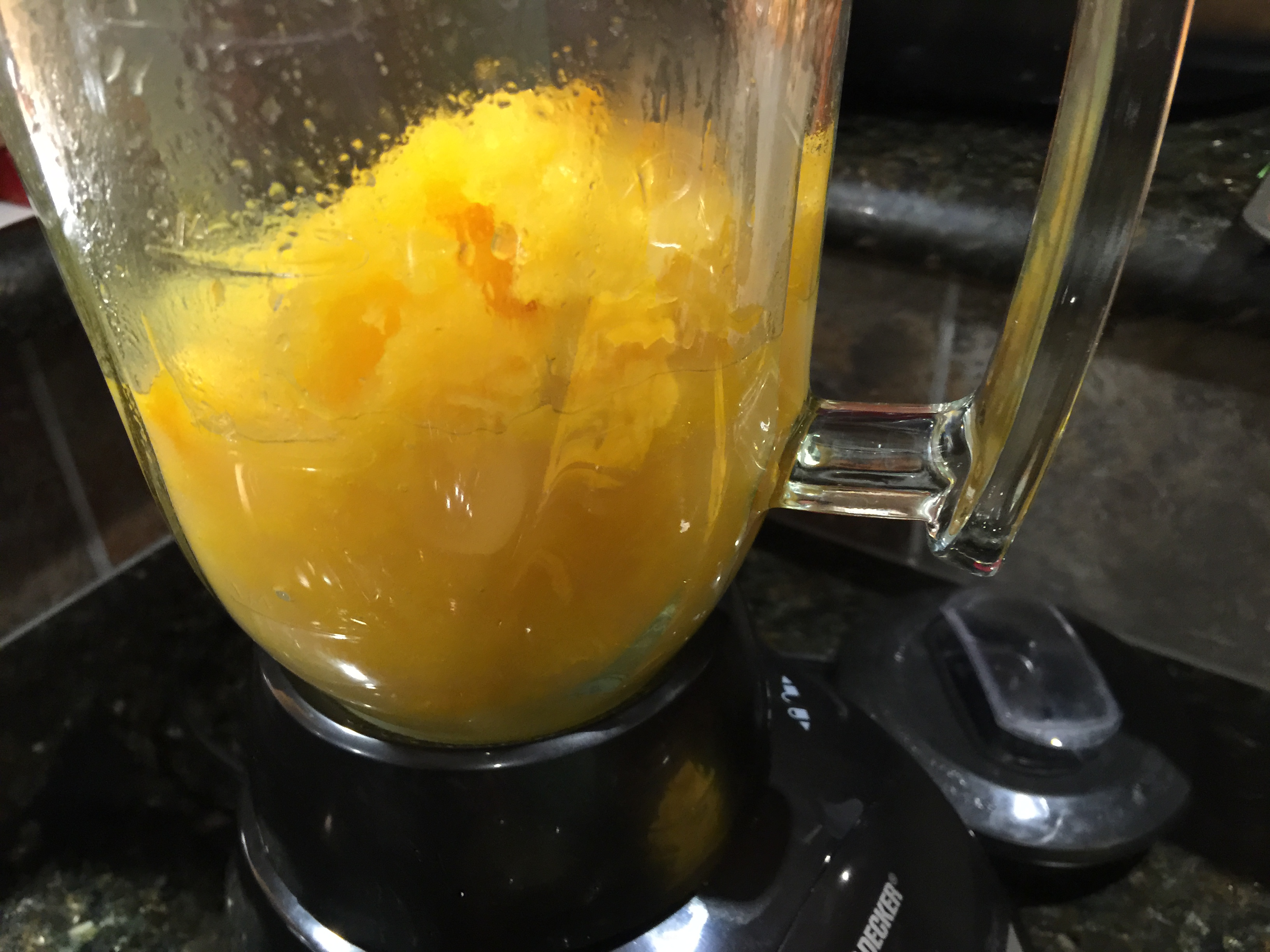 Add Steamed Butternut Squash and a Bit of Liquid Soup Base to a Blender and Pulse
